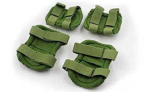 Тактическая защита наколенники + налокотники Х Oliva, фото 2