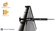 501-MB1203-01 | Радіатор без рами [PERFEKT COOLING] MERCEDES ACTROS, фото 2