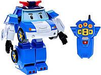 Робот-трансформер Поли на радиоуправлении Robocar Poli 22 см (83090)