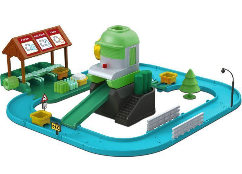 Игровой набор Robocar Poli Перерабатывающая станция 55x50 см (83155)