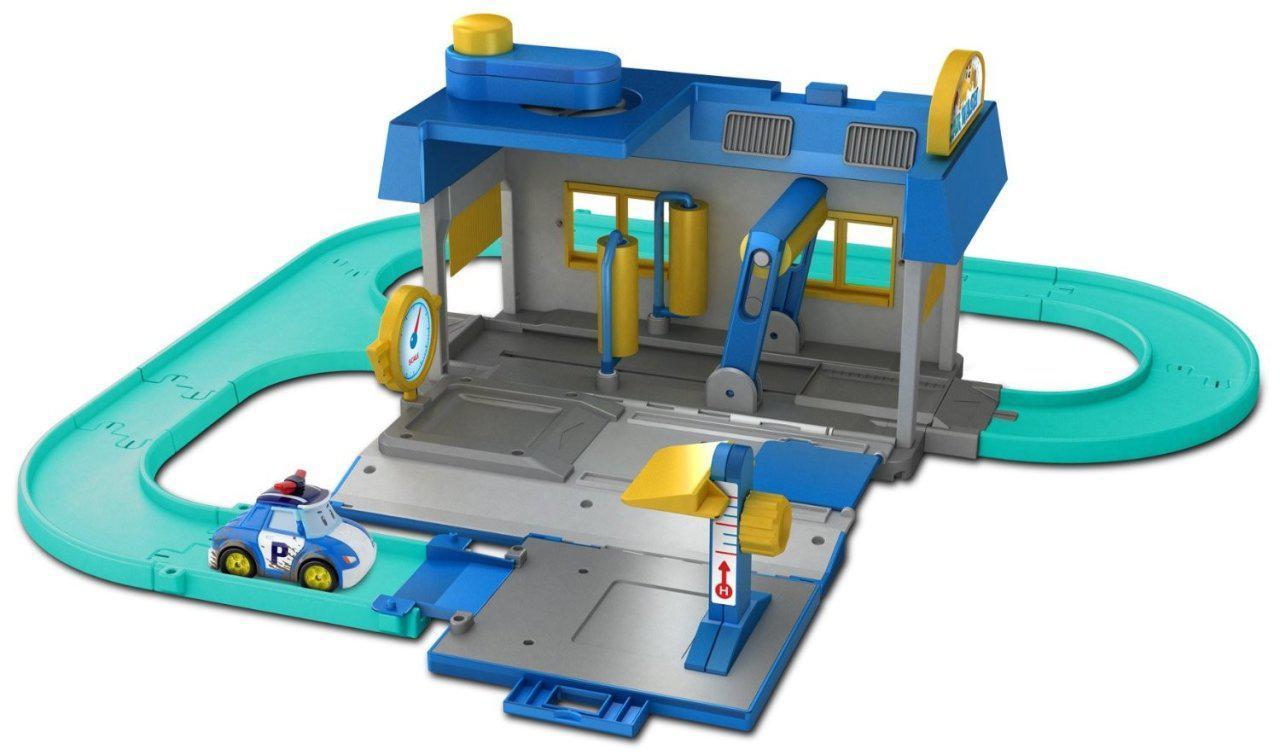 Игровой набор Robocar Poli Мойка 53х55 см (83159)