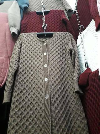 Женская вязаная кофта, фото 2