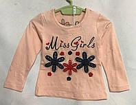 """Кофта детскаядля девочки, """"Miss Girls"""", 1-5 лет, персиковая, фото 1"""