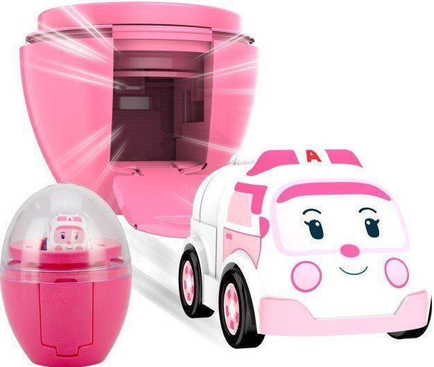 Мини-машинка Robocar Poli Эмбер в яйце 2,8 см (83291)