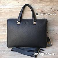 Кожаный мужской портфель H.T Leather