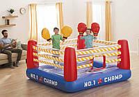 Intex 48250, детский надувной Батут-Ринг 226x226x110см
