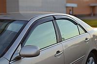 Дефлекторы окон (ветровики) Toyota Camry V Sd 2002-2005 (Тойота Камри) Cobra Tuning