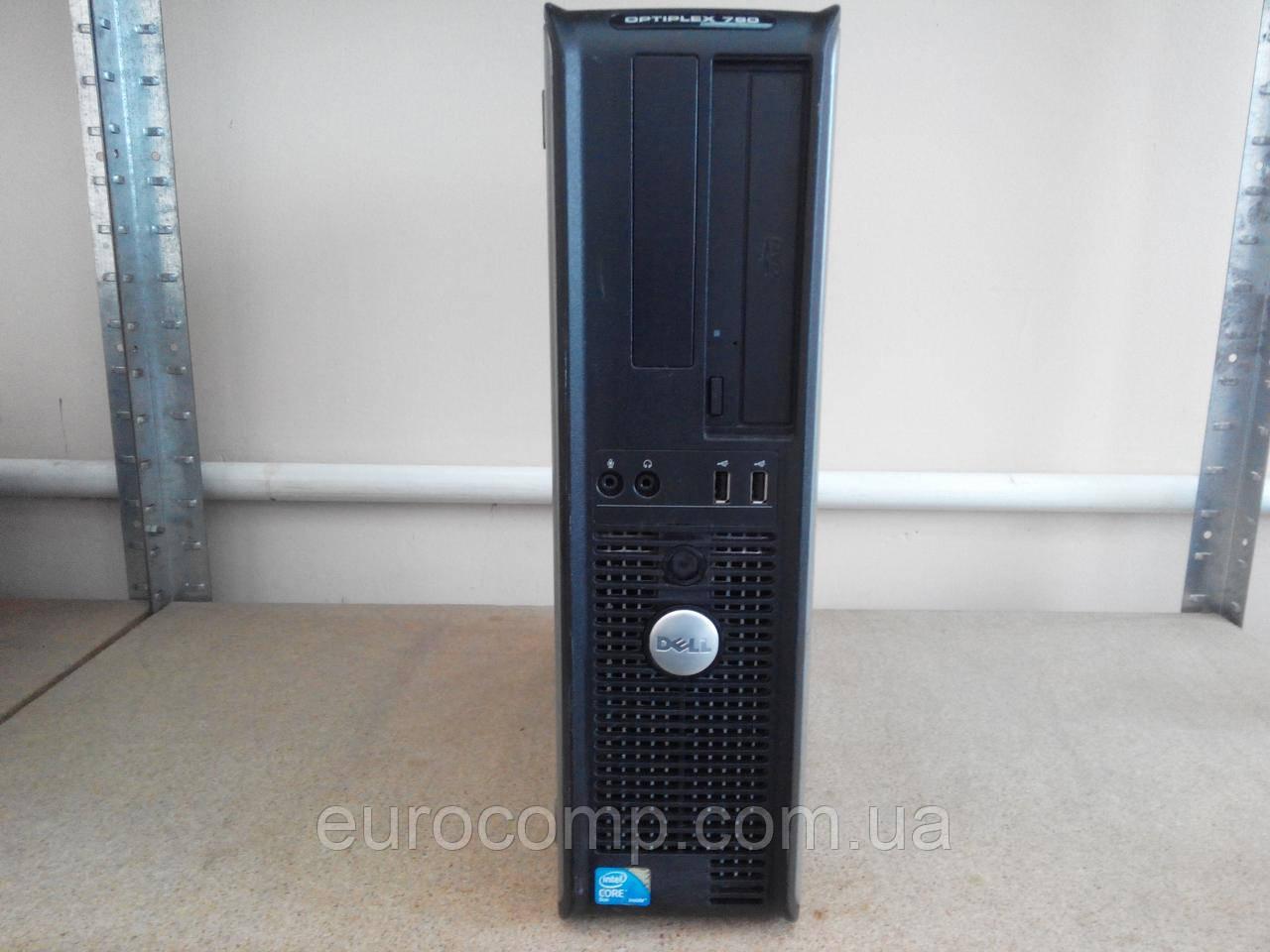 Компьютер для дома и офиса Dell Optiplex 760 DT (C2D E7400/4GB/160GB)