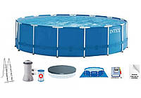 Intex 28242, каркасный бассейн 457 x 122 см Prism Frame Pool, фото 1