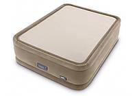 Intex 64936, Утепленная надувная кровать 152х203х51 см, фото 1