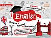 Стікербук (довідник у наліпках). Англійська мова. Початковий рівень. 1-4 клас.