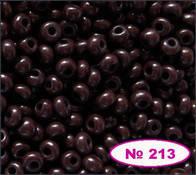 Чешский бисер Preciosa -213-13780,  натуральный
