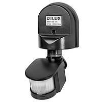 DELUX ST-10А датчик включения света черный настенный накладной IP44