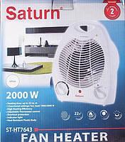Бытовой тепловентилятор st-ht7643, обогрев помещений до 20м2, высокая мощность 2000вт, 3 режима, термостат