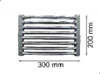 Колосниковая решетка 30 см (чугунная)