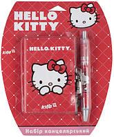 Набір канц., блокнот на замку+ручка Hello Kitty