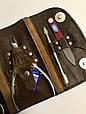 Маникюрный набор SPL 5 предметов натуральная кожа, фото 4