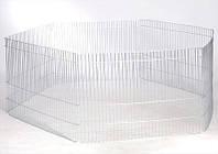 Клетка вольер малый цинк 6 секций (70х50)