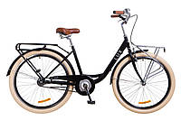 """Велосипед 26"""" Dorozhnik LUX 2018 (черный) Городской"""