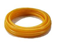 Гофра вакуумная напорно-всасывающая желтая Ø 75 мм. 10 м. ТМ Evci Plastik