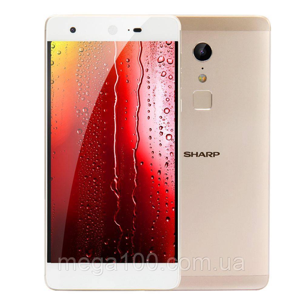 Смартфон SHARP Z2 цвет золотой (экран 5,5 дюймов, памяти 4/32, емкость акб 3000 мАч)