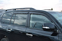Дефлекторы окон (ветровики) Toyota Land Cruiser 200 5d 2007/Lexus LX570 (URJ200) 2007 (Тойота ленд крузер 200) Cobra Tuning