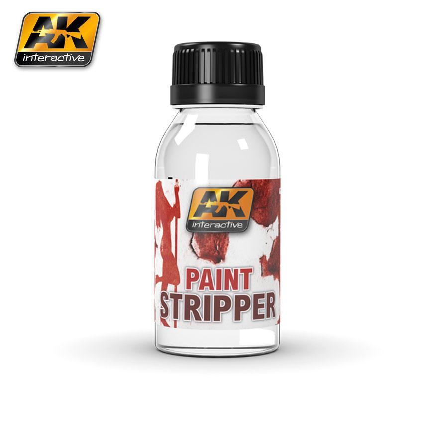 Жидкость для удаления краски с модели 100 мл. AK-INTERACTIVE AK186