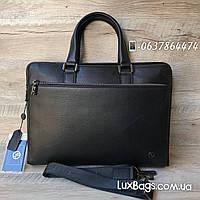 Мужской портфель H.T Leather в коже