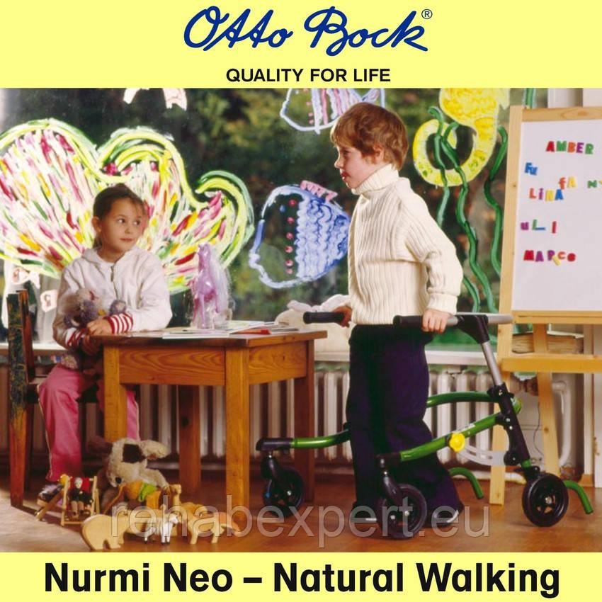 Б/У Заднеопорные ходунки для реабилитации детей с ДЦП - Otto Bock Nurmi Neo Gait Trainer  Size 1