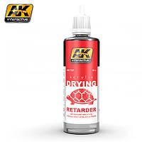 Жидкость для замедления времени высыхания любой акриловой краски 60 мл. AK-INTERACTIVE AK-737