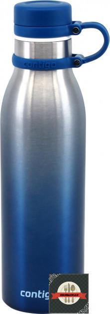"""Термобутылка для напитков """"Thermalock Matterhorn"""" 7х26.5см/590мл из нержавеющей стали Contigo"""