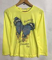 """Кофта дитяча для дівчинки, """"Метелик"""", 6-10 років, червоного кольору, фото 1"""