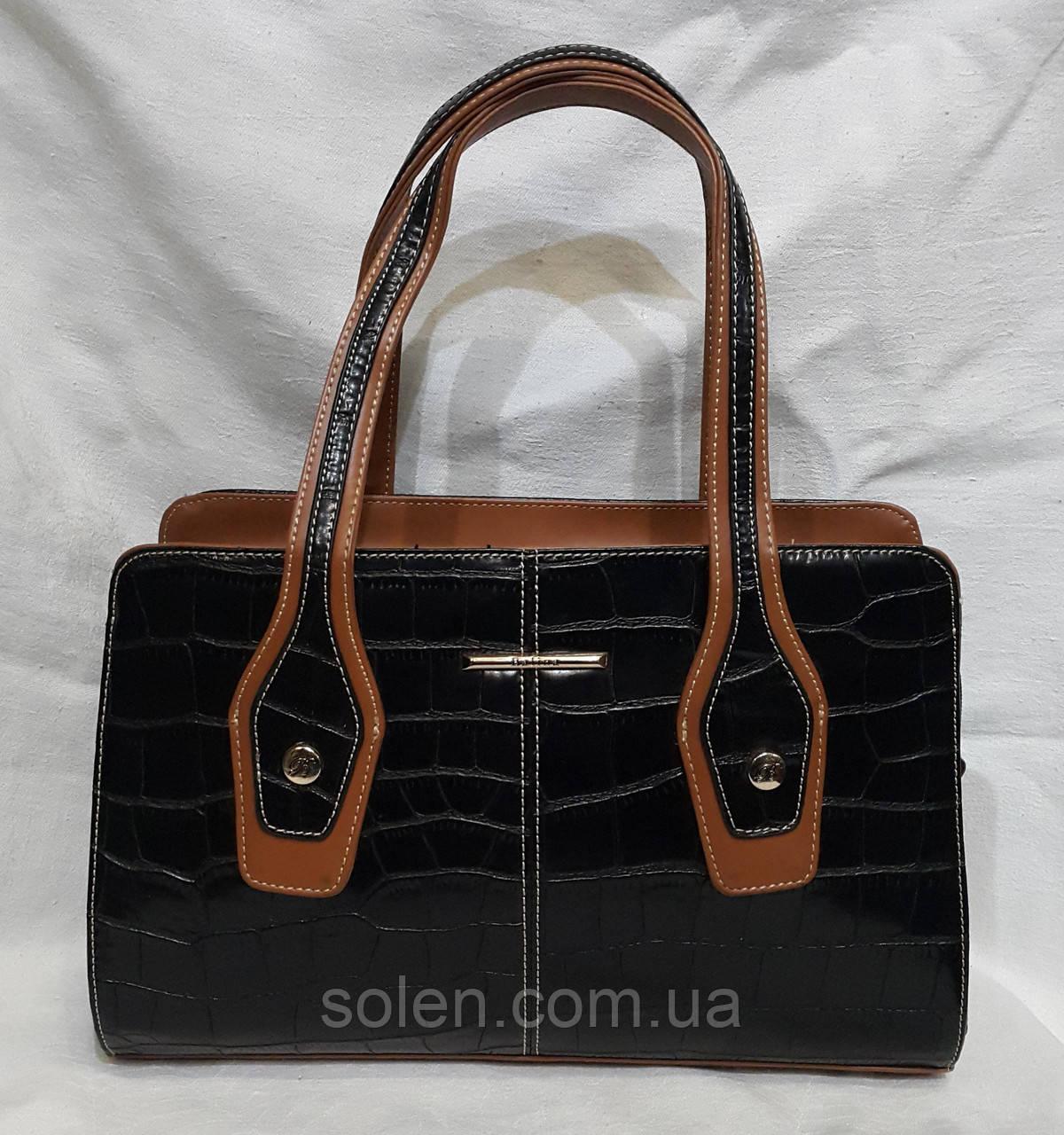 Женская сумка из кожзаменителя . Стильная сумка.