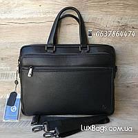 Стильный мужской портфель H.T Leather, фото 1