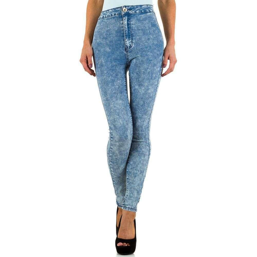 Женские джинсы от Bestiny Denim - L. blue - KL-J-973-6-L. blue