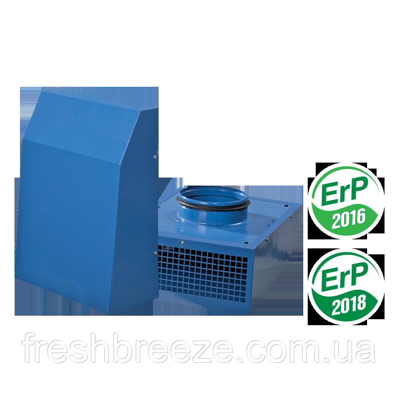 Витяжний вентилятор зовнішнього настінного монтажу Vents ВЦН 125 ЄС