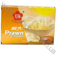 Рисовые креветочные чипсы Hong Mei белые 200г
