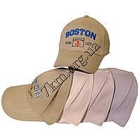 """Кепка детская для мальчиков """"Boston"""" 54 р. хлопок Вьетнам Оптом 7716"""