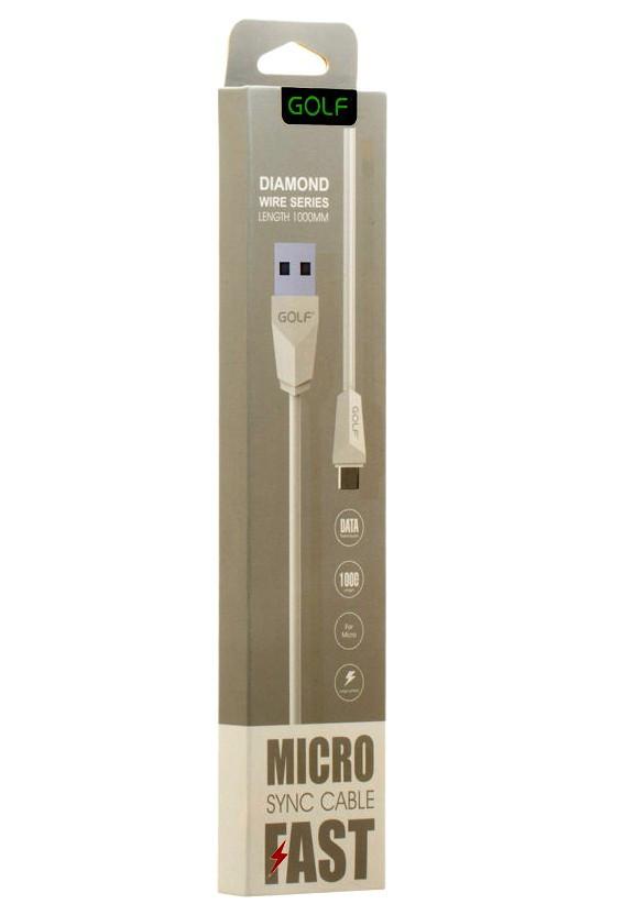 Кабель USB GOLF Diamond micro USB GOLF GC-27M