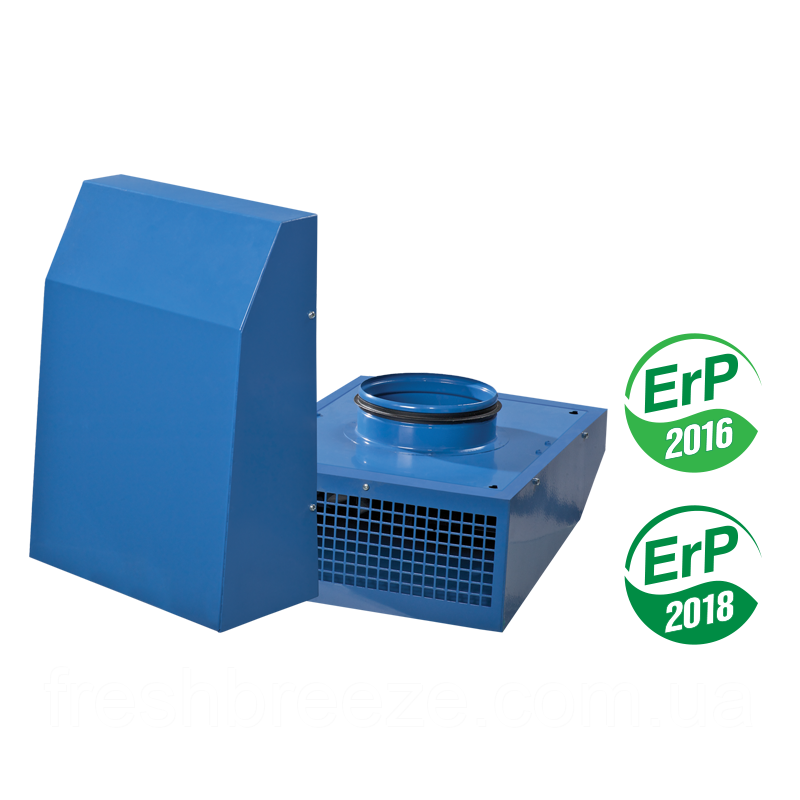 Вытяжной  вентилятор наружного настенного монтажа Vents ВЦН 150 ЕС