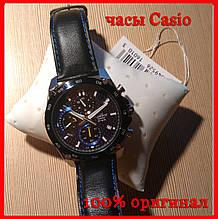 Часы наручные мужские Casio EFR-557BL-2A. 100% оригинал. Кассио часы. 24 месяца гарантия. Доставка