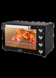 Электродуховка  VINIS VO-6021B (конвекция, пицца, гриль, подсветка)