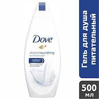 Гель для душа Dove Глубокое питание и увлажнение, 500 мл
