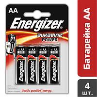 Батарейка Energizer Alkaline Power AA, 4 шт.