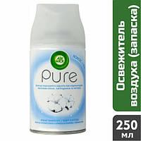 Сменный баллон к освежителю воздуха Air Wick Freshmatic Pure Цветы хлопка, 250 мл
