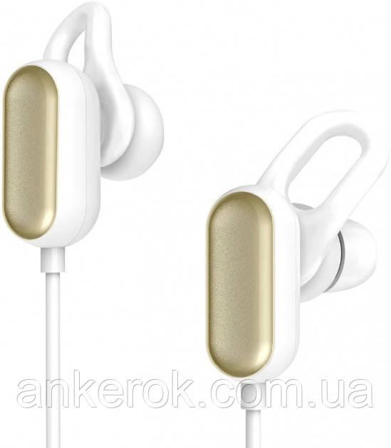 Наушники с микрофоном Xiaomi Mi Sports Bluetooth Headset Youth Edition White/Gold (YDLYEJ03LM)