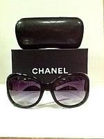 Очки Chanel солнцезащитные черно/белые, фото 1
