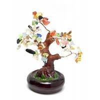 Дерево с разноцветными камнями (15х16х14 см)(801-804) Код:22768A