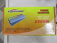 Преобразователи напряжения (инвертор) Konnwei DC 12, 210-230V  2500 W