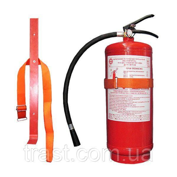Крепеж к огнетушителю ВП (ОП) с 1 фиксатором